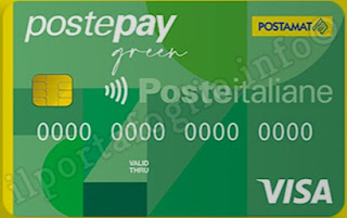carta prepagata postepay green