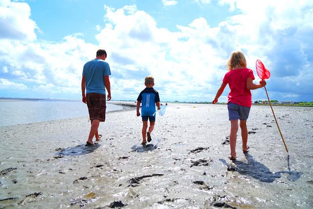 Nordsee Wattwandern Familie Kinder Urlaub
