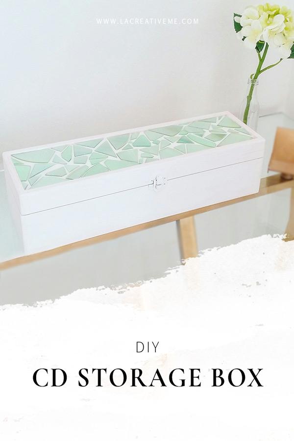 DIY Κουτί Αποθήκευσης από CD