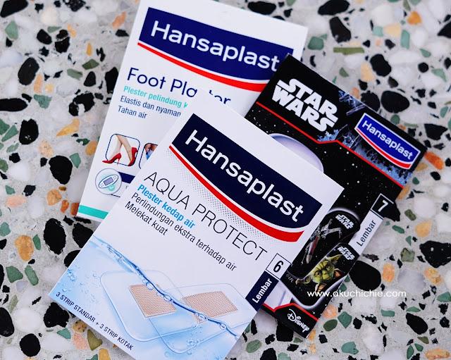 lindungi luka dengan Hansaplast Aqua Protect