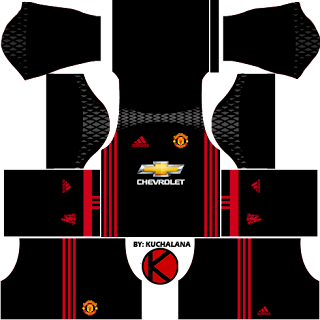 Manchester United Kits 2016/2017 - Dream League Soccer 2017 & FTS15
