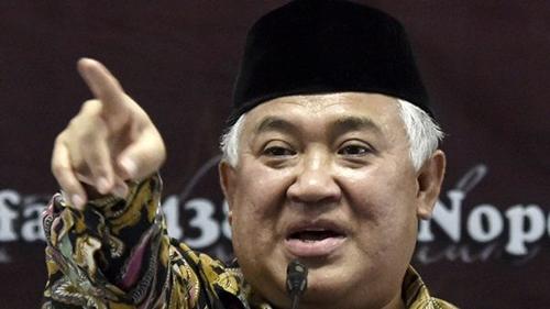 Sindir Kepemimpinan Jokowi, Din Syamsuddin: Pancasila Ingin Dipisahkan dari Agama