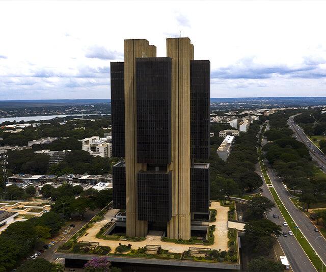 fachada do predio banco central