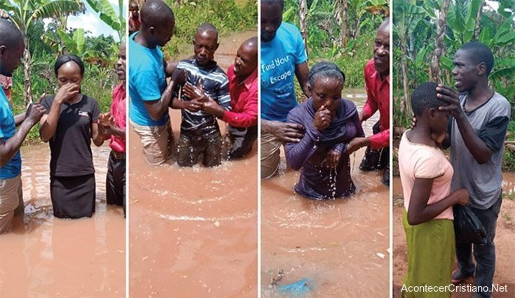 Bautismo en Uganda