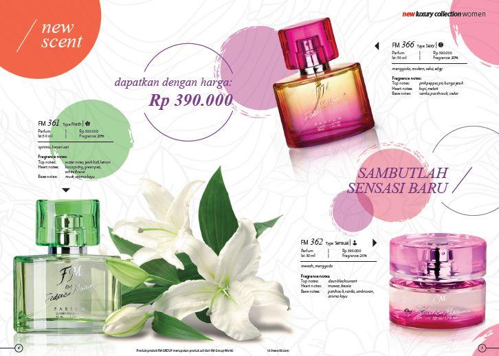 Bisnis Parfum Original Import Eropa Fm By Federico Mahora Bisnis