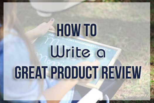 How to Write a Great Product Review : eAskme