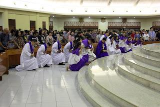 Misa Rabu Abu Pk. 19.30