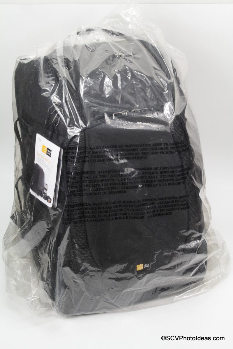 Case Logic DSB-103 DSLR Split Pack in nylon bag