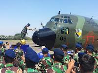 Tiga Tahun Jalani Retrofit di AIROD Malaysia, Pesawat Tanker KC-130B Hecules A-1309 Tiba di Malang