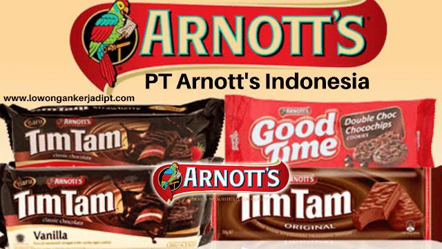 Lowongan Kerja PT Arnott's Indonesia