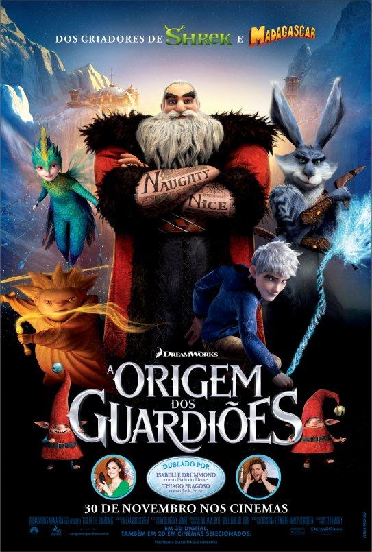 A origem dos guardiões   Netflix