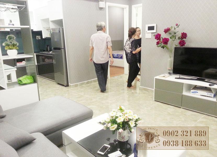 Giá bán căn hộ The Prince - tham quan nhà