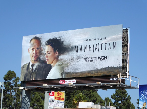 Manhattan season 2 billboard
