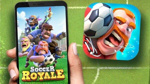 Soccer Royale 2019: PvP futebol clash!