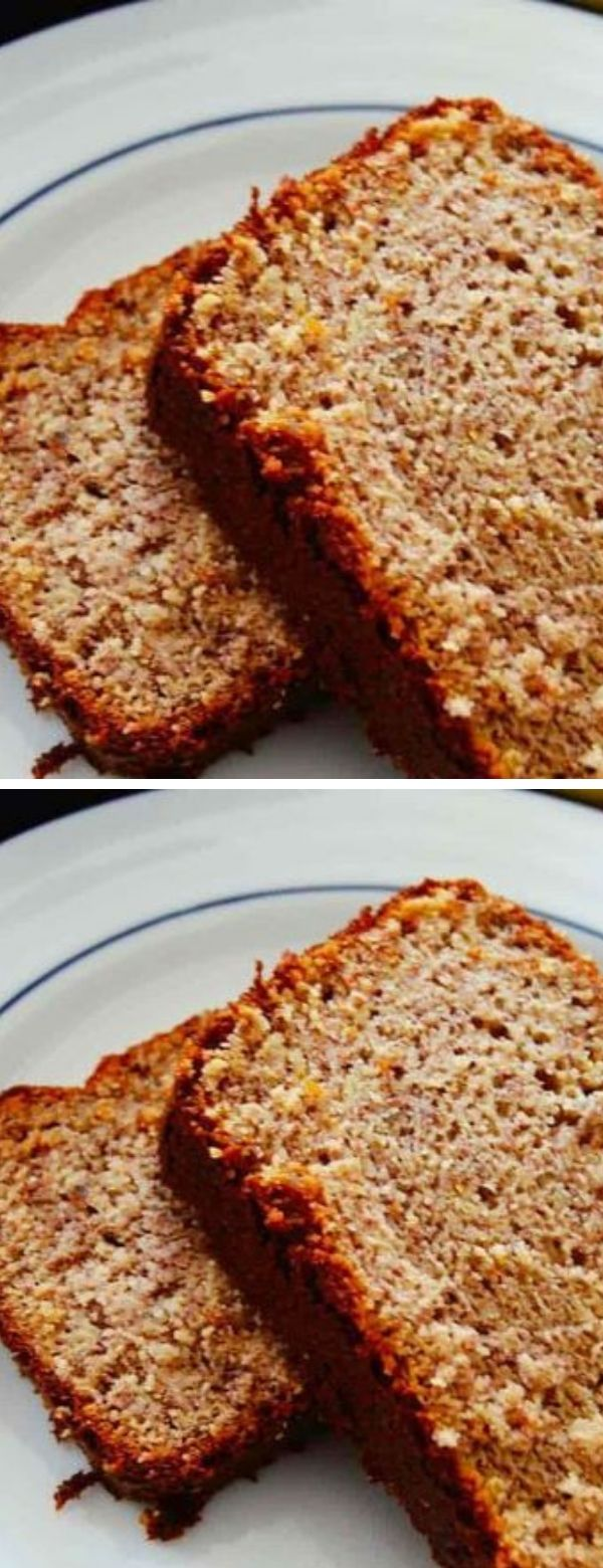 Low Carb Banana Bread #breakfast #lowcarb