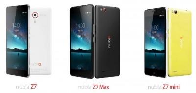 Kurang dari Lima Menit, ZTE Nubia Z7 Terjual 52800 Unit