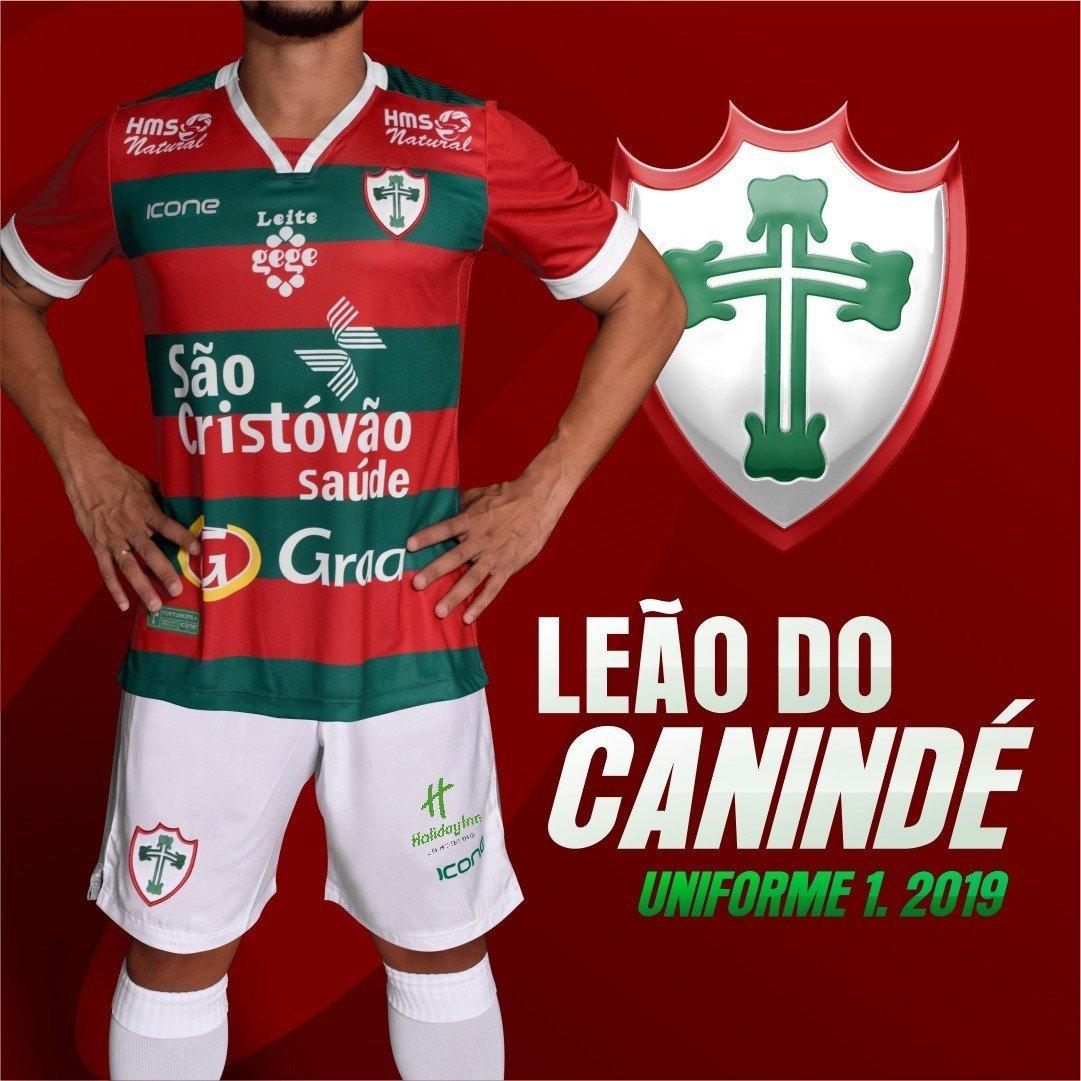 Ícone Sports divulga as novas camisas da Portuguesa - Show de Camisas 95a1a49bb5e2a