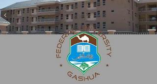 COURSES OFFERED IN FEDERAL UNIVERSITY GASHUA, FUGASHUA, www.fugashua.edu.ng