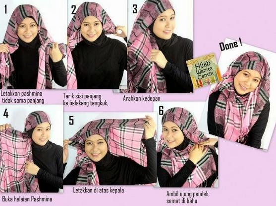 Cara Pakai Jilbab Modern Untuk Remaja