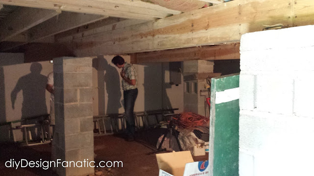 crawl space encapsulation, High Crawl Space, sump pump