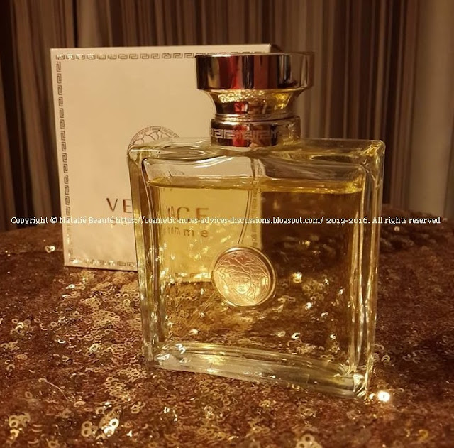 VERSACE POUR FEMME PERFUME NATALIE BEAUTE PERSONAL REVIEW AND PHOTO