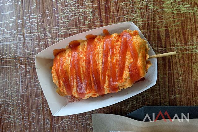 Kena Cuba Bangman Fried Chicken, Temerloh. Cheese Tak Kedekut Katanya