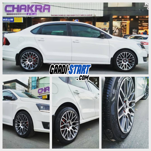 Skoda Rapid 2020 Alloy Modification you must have in year 2021