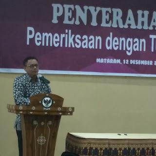 Ketua DPRD Kota Bima Minta Saran BPK dan Wagub Soal Asset