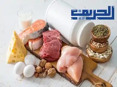 اطعمة تساعد على بناء العضلات