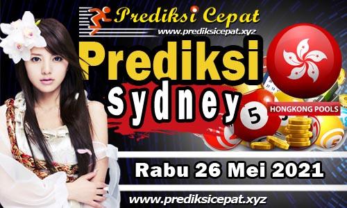 Prediksi Togel Sydney 26 Mei 2021
