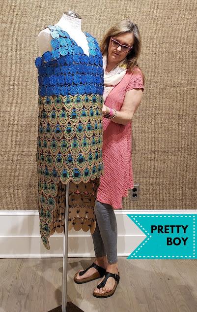 recycled-cardboard-challenge-peacock-dress-winner-merrill-weber