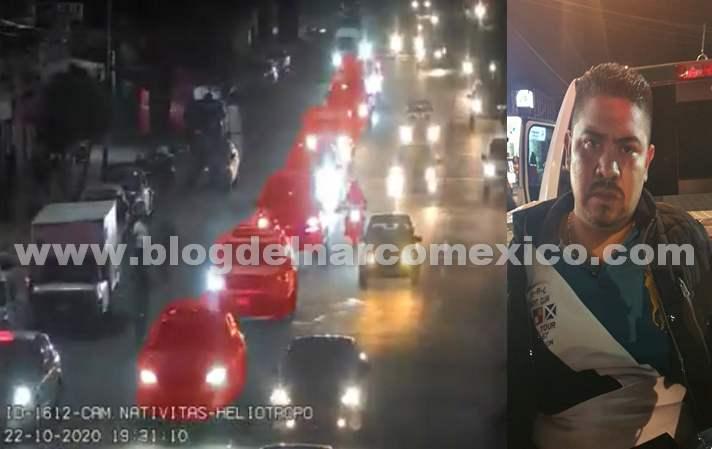 Video: Se sentían dueños de la Ciudad, así circulaban en convoy golpeando y extorsionando personas Sicarios del Cartel de Tláhuac en calles de la CDMX, fueron detenidos