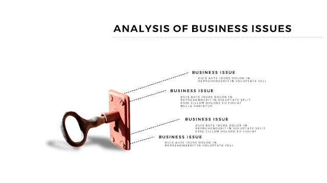 Infographic Analysis of Business Issues Free PowerPoint Template Slide 2