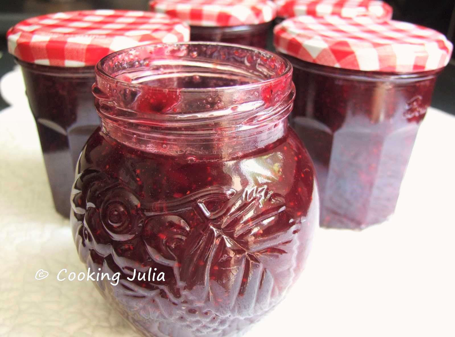 confiture de fraise cooking julia