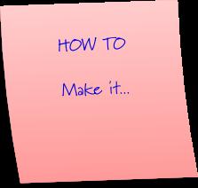 How to make a rock garden.