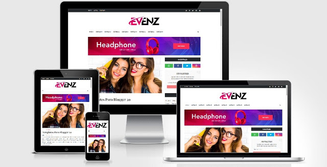 Blogger Template Evenz