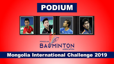 Podium Mongolia International Challenge 2019