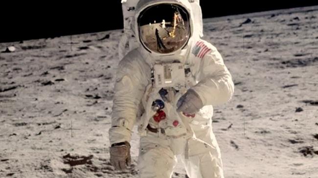 Astronauta na Lua/Reprodução