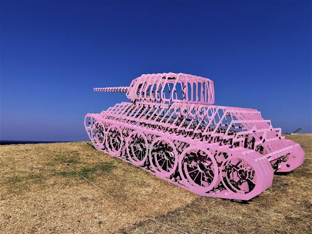 ' Pinktank Wrecked' by David Černý