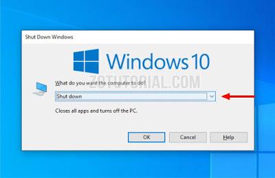 2 Cara Mematikan (Shut down) Komputer PC dan Laptop yang benar zotutorial