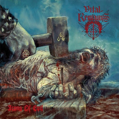 Capa do álbum Icons of Evil, da banda Vital Remains