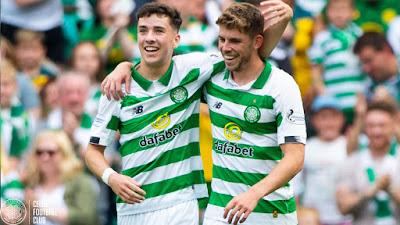 Ryan Christie Michael Johnson Celtic FC