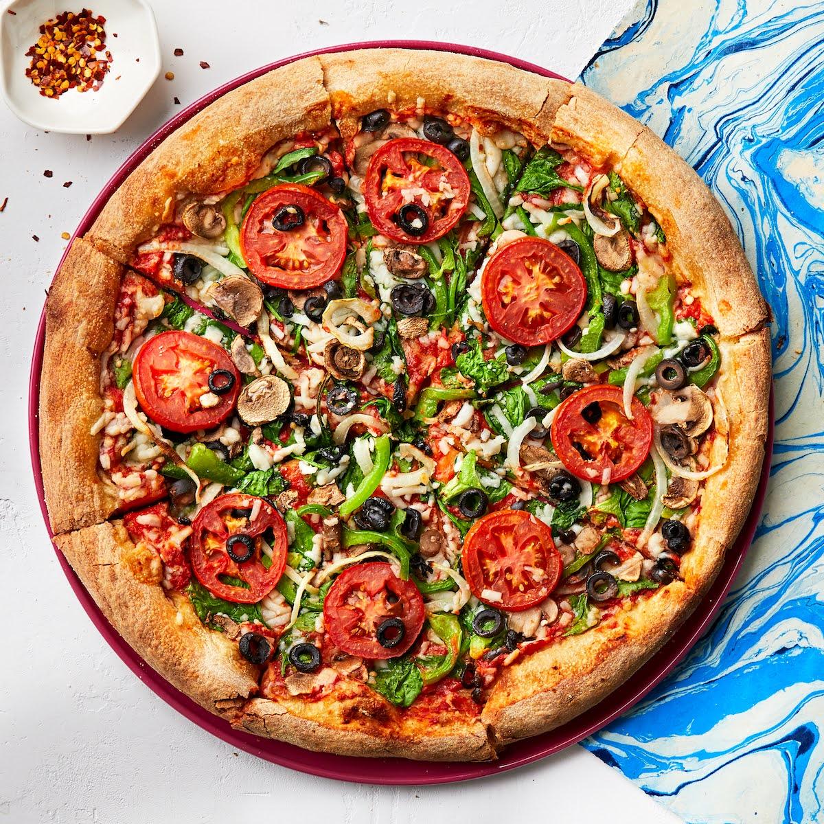 Gluten-Free Veg Out Pizza