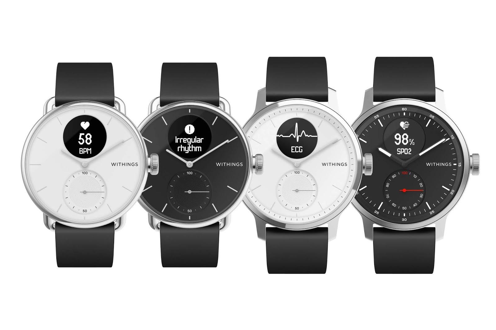 Die Withings ScanWatch kommt   Die weltweit erste klinisch validierte Hybrid-Smartwatch mit Elektrokardiogramm und Schlafapnoe-Erkennung