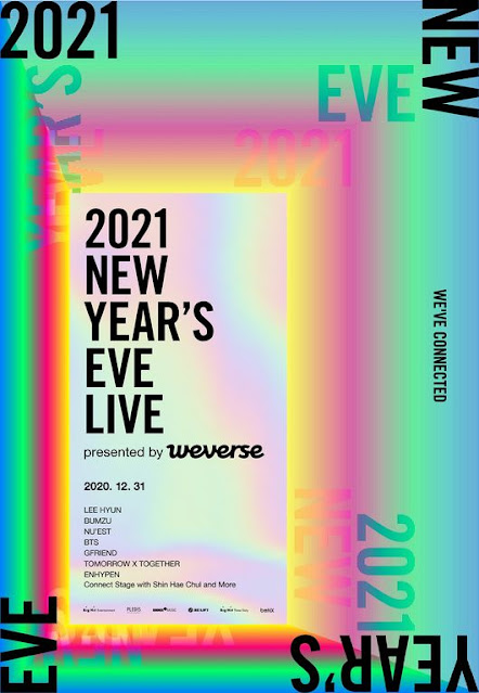 2021 New Year's Eve Live Big Hit Labels