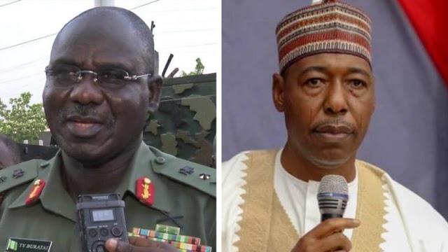 Boko Haram: Sojojin Najeriya sun mayar wa Gwamna Zulum martani