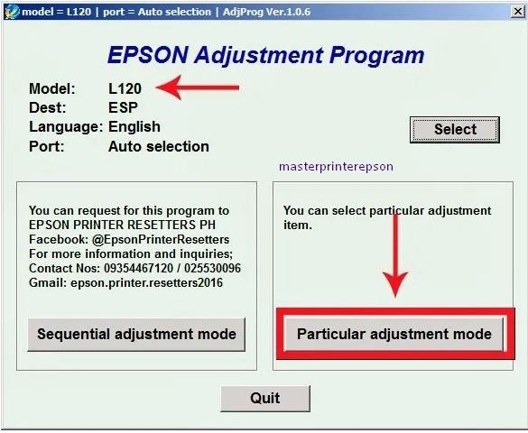 Cara Reset Epson L120 Terbukti Berhasil