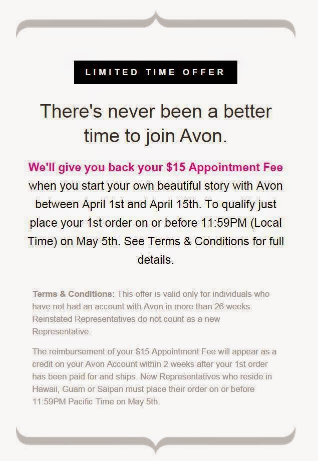 Start Selling Avon for Free