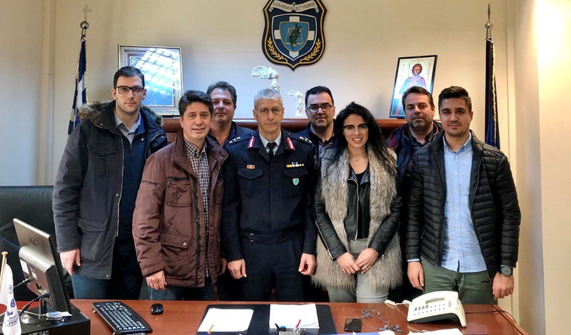 Συνάντηση του Δ.Σ. της Ένωσης Αστυνομικών Υπαλλήλων Αλεξανδρούπολης με τον Γενικό Περιφερειακό Αστυνομικό Διευθυντή ΑΜ-Θ