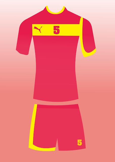 Desain Jersey PUMA merah 5